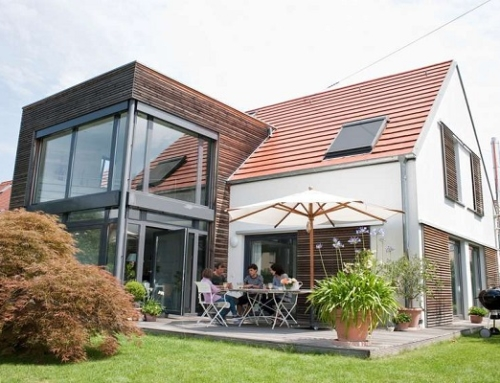 Energieeffizient bis zur Dachspitze