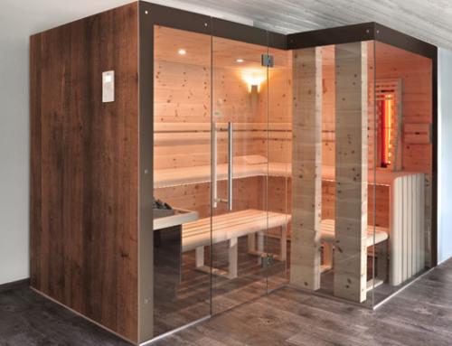 Die Sauna mit der dreifachen Entspannung