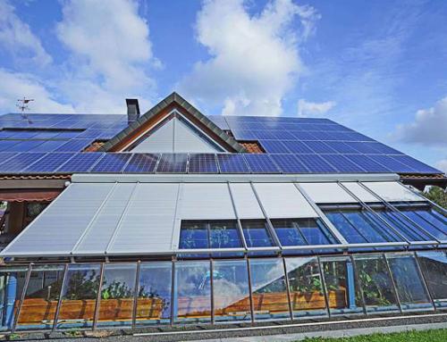 Energiesparender Glasanbau