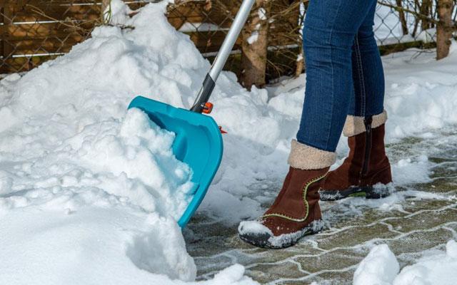 Schneeräumungspflicht auf Aussen-Parkplätzen