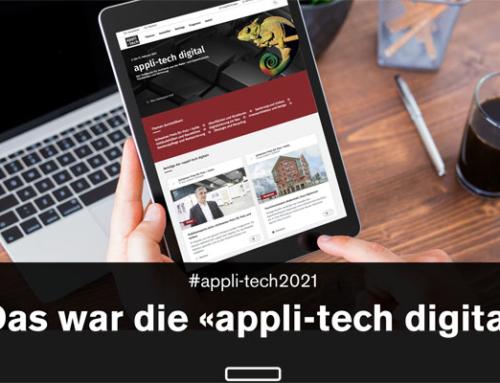 Die «appli-tech digital» war ein Erfolg