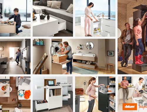 Blum Inspirations – die Plattform für kreative Möbelideen und ergonomische Schranklösungen