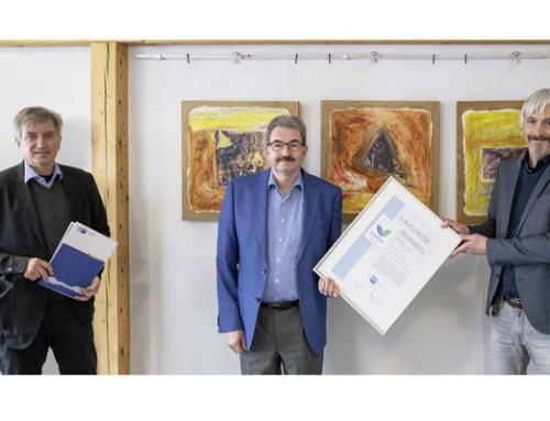 GUTEX erneut mit EMAS-Gütesiegel ausgezeichnet