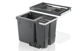 Clevere Abfalltrennsysteme für die Küche