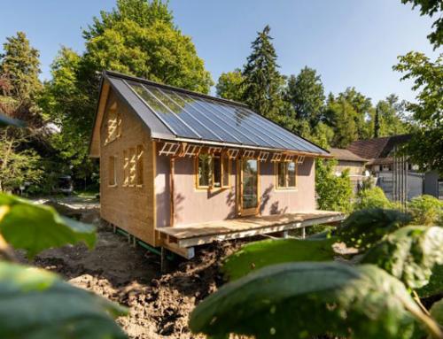 KREIS-Haus: Neuartiges «Praxislabor» für kreislauffähiges Bauen und Wohnen
