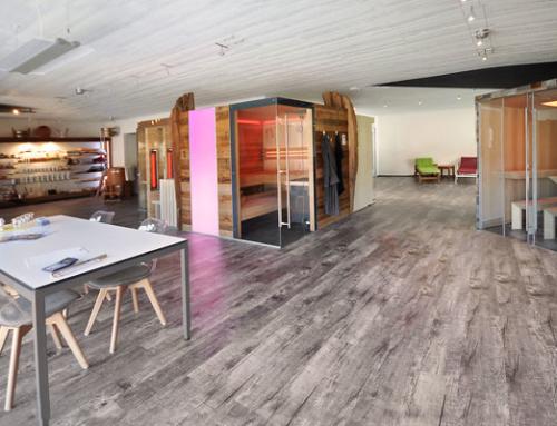 Vergrößerung unserer Ausstellung – Bühne frei für die Vielfalt an Sauna- und Infrarotmodellen von Saunabau Döbele!