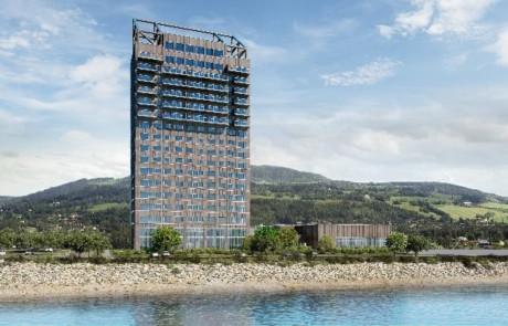 Das höchste Holzgebäude der Welt