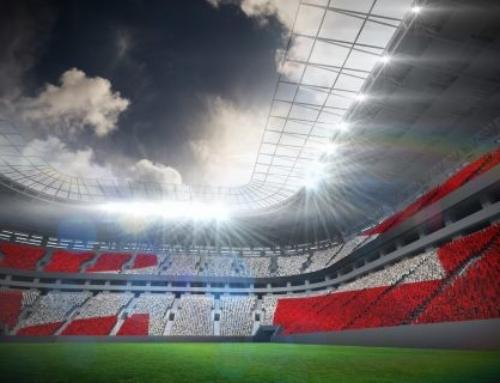 Neues Fussballstadion