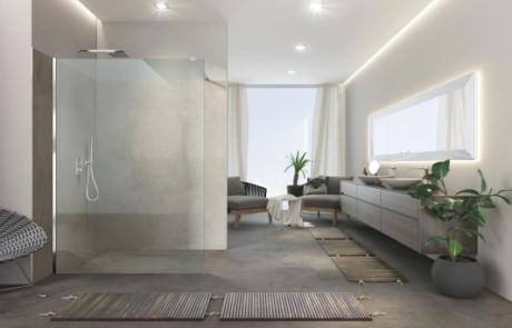 Die preisstarke Walk In Dusche für Sanierung und Neubau
