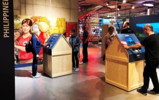 Weltreise Rotes Kreuz in der Umwelt Arena Schweiz