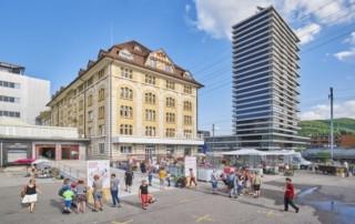 Pratteln Mitte - ein neuer Stadtteil entsteht