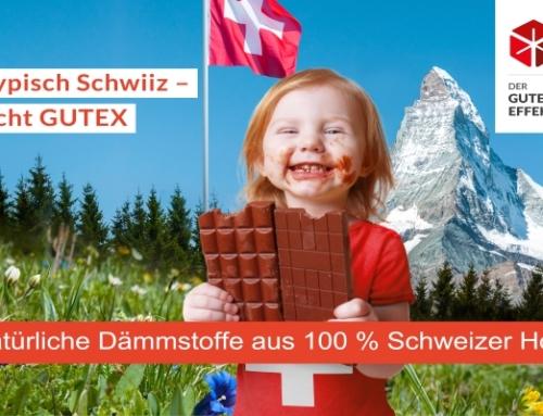 Mehr natürliche Dämmstoffe aus 100 % Schweizer Holz