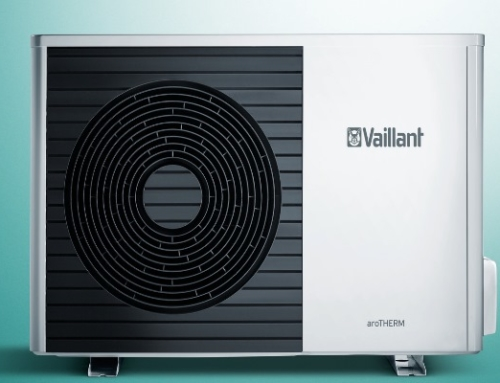 Split-Luft/Wasser-Wärmepumpe