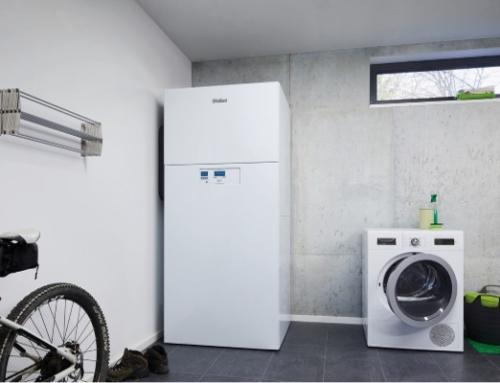 Luft/Wasser-Wärmepumpe 5 und 7 kW aus dem Hause Vaillant