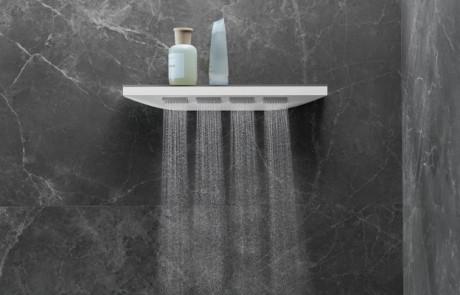 Eine neue Dimension des Duschens