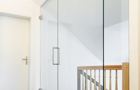teiltransparenten Türen