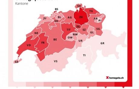 Schweizer ziehen häufiger um