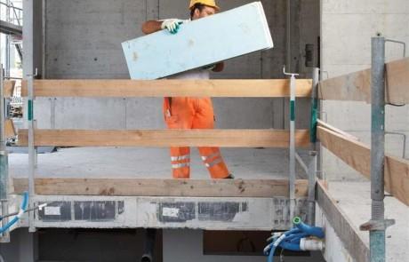 Baustelle Schutzmassnahmen