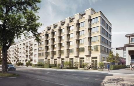 Umbau Blockrandsiedlung