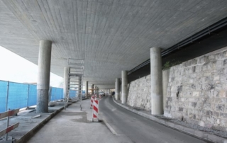Autobahnsanierung bei Hergiswil