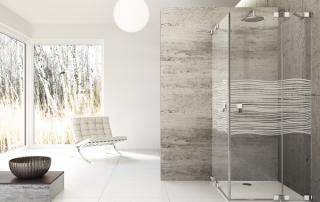 Glas-Duschen