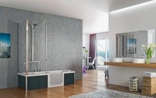 DUO – Duschen und Baden in einem