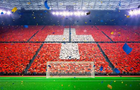 Ein Fussballstadion ohne Steuergelder