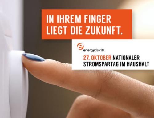 energyday18: nationaler Stromspartag im Haushalt