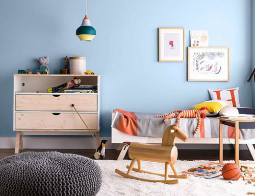 Gesundes Wohnraumklima im Kinderzimmer