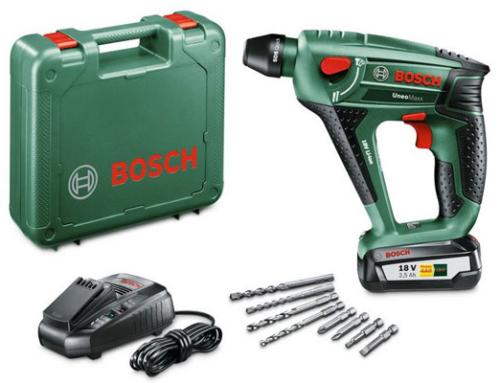 Gewinnspiel Bosch Akku-Bohrhammer