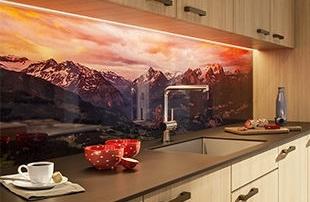 Küchen aus Glas