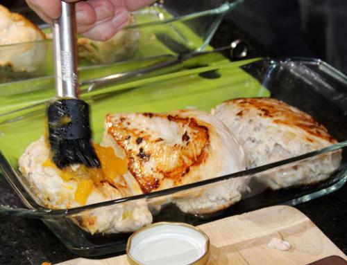 Hähnchenfilet – gefüllt und gratiniert