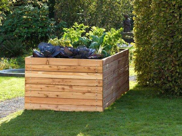 Das Hochbeet Fur Ihren Garten Bauschweiz Das Portal Fur Bauen