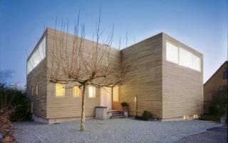 Häuser aus Schweizer Holz