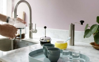 Sogenannte Kochend-Wasserhähne sind permanent auf Betriebstemperatur