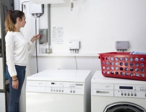 Verbrauchsgerechte Abrechnung in Gemeinschafts-Waschküchen