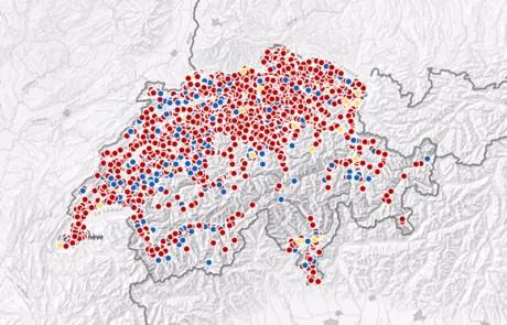 Neue interaktive Minergie-Gebäude-Karte
