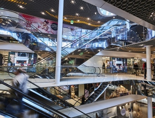 Mint Architecture: Neuinszenierung des Shoppingcenters INSIDE