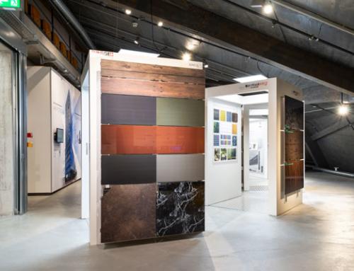 Neue Ausstellungen 'Farbige Solarfassaden' und 'Speicherbatterien'