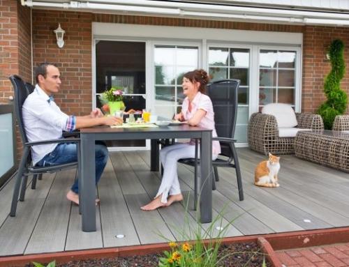Planen und Anlegen der Terrasse
