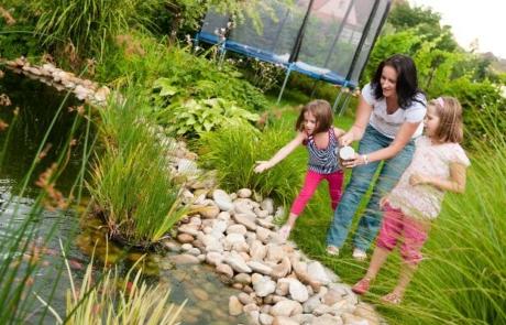 Checkliste: 5 Punkte beim Teichbau