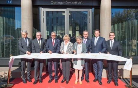 Oettinger Davidoff AG eröffnet Neubau des Hauptsitzes in Basel