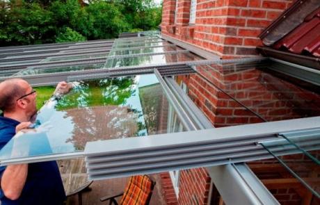 Cabrio-Dach für die Terrasse