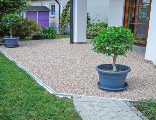 Ein neuer Teppich für die Terrasse