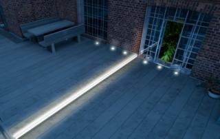 Gartengestaltung für Nachtschwärmer