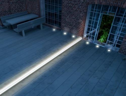 Gartengestaltung für Nachtschwärmer-Flexibles Licht für die Terrasse