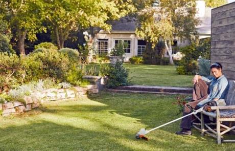 Sonnenschutz für den Rasen