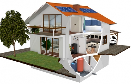 Plusenergie-Gebäude