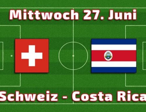 27. Juni Tippspiel Schweiz – Costa Rica