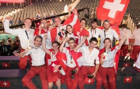 SwissSkills Team gewinnt 20 Medaillen